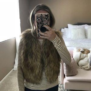 Jackets & Blazers - Jack faux fur vest